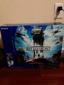 Brand new sony PS4 jet black in box