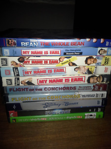 DVDs and Blu rays and TV shows for sale