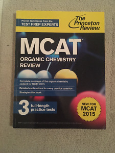 Princeton Review OCHEM Review Book, for New MCAT