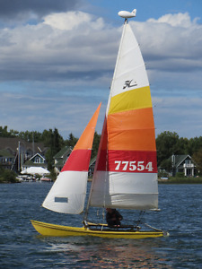 Hobie 16 with road trailer for sale