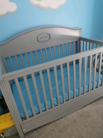 Bellamy cot bed and toddler bed