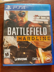 PS4 game Battlefield  Hardline