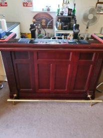 Home Bar in Mahogany