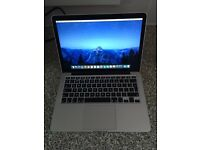 Apple MacBook Pro 13-inch Intel core i5 8GB ram 256GB flash storage early 2015 force touch