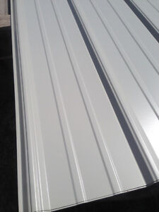 3255 Square Feet Brand New Light Grey Metal Roofing