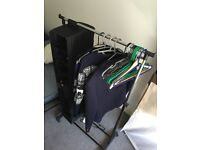 Closet rack include hanger and muti function hanging storage
