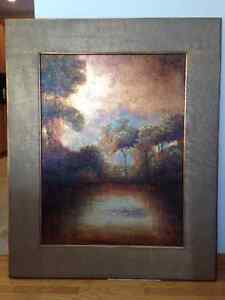 Huge oil painting