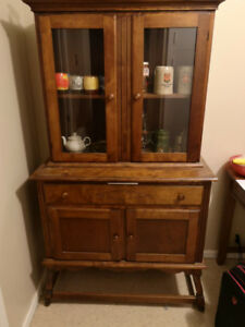 Mid 20th century Jam cupboard, arts and crafts style 850 obo