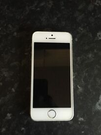 iPhone 5s White/silver 32gb unlocked