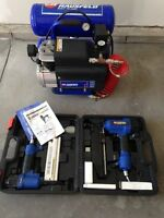 Campbell Hausfelt Air Compressor and Tool Kit