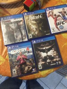 PlayStation PS4 video games for sale