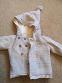 F&F baby cardigan 3-6months