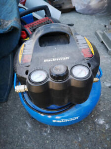 Air compressor and nailers