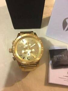 Nixon 51-30 Chrono Gold A083-502 A083502 Stainless Steel Watch Dandenong Greater Dandenong Preview