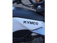 Kymco (125cc, semi automatic)
