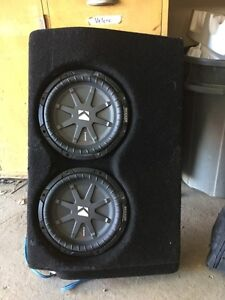 "JL Stealthbox dual 10"" subs 2005-2011 Tacoma Double cab"