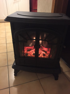 Electric Fireplace (stove type)