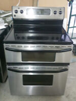 ***POELE PORTE DOUBLE MAYTAG STAINLESS CONVECTION, LIVRAISON***