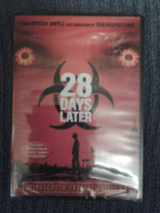 28 DAYS LATER DVD (NEW)