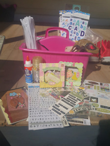 Scrapbook stickers and supplies