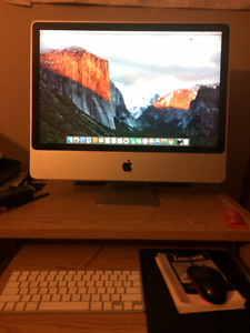"Apple IMac 24"" + Keyboard + Mouse"