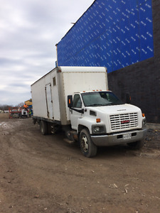 2004 GMC 7500 Spray Foam Truck, Spray Foam Trailers, Operational