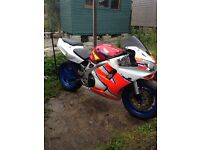 Honda cbr900 1996 unfinished project