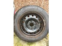 Citroen C3 wheel and tyre