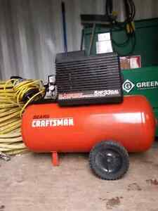 Air compressor  5 HP 33 galon