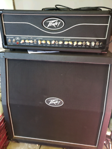 Peavey Butcher head and 4×12 cab