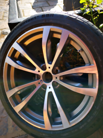 Brand new genuine Bmw x5 x6 rear 20 inch alloy wheel