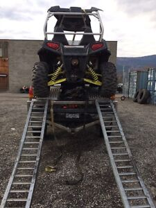 Side by side ramping system