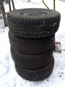 Winter Tires and Rims - Ford F150