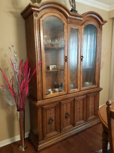 2 Pc Display Hutch For Sale