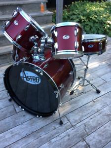 Astro 5-Piece Drum Set (Red)