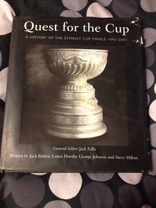 Quest for the Cup. Hardcover book London Ontario image 1