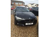 Bmw 1 series 116d Sport. 61 plate. Only 54k