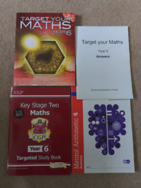 Key Stage Two Maths, English & Science books