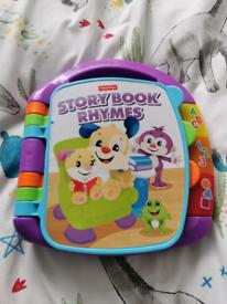 Fisherprice nursery rhyme book