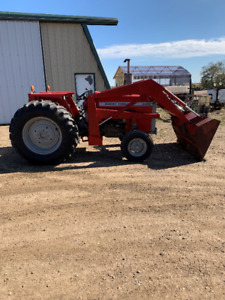 265 Massey Ferguson Tractor with Loader