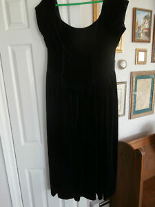 NAVY VELVET SHORT DRESS LAURA ASHLEY Size 12