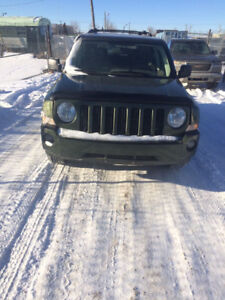 2008 Jeep Patriot Limited edition SUV, Crossover 4x4