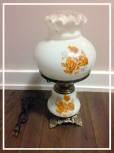 Victorian style bedside table lamps