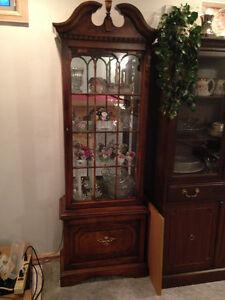 Beautiful Antique Curio Cabinet for Sale