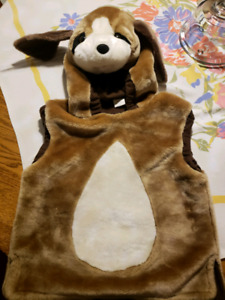 Pull over dog costume (child size)