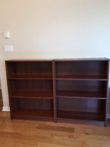 2 Book shelves  for moving sale