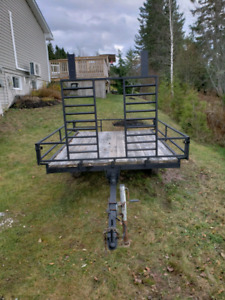 Atv utility trailer 6ft 7in x 9ft