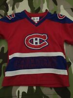 Montreal Canadians kids jersey size 4