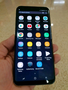Samsung Galaxy S8 immaculate new conditions, trade in welcome