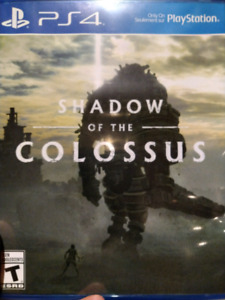 PlayStation 4, shadow of the colossus
